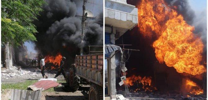 Afrin'de bombalı araçla saldırı!