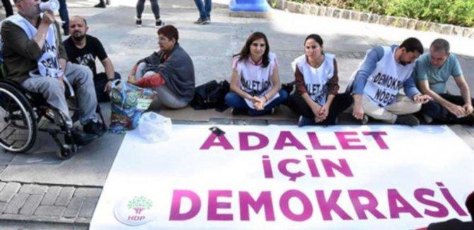 HDP'den oturma eylemi