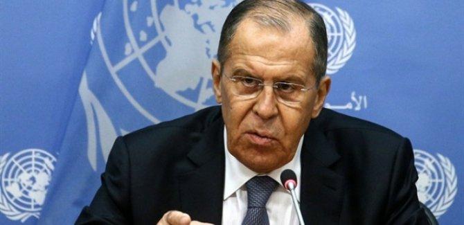 Lavrov: Kürt sorunu Suriye'nin toprak bütünlüğü temelinde çözülmeli