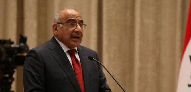Abdulmehdi: Saldırıların arkasında İsrail var