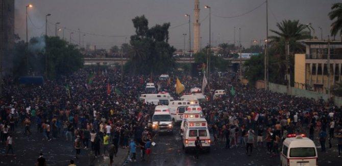 Irak protestolarında ölü sayısı 18'e yükseldi