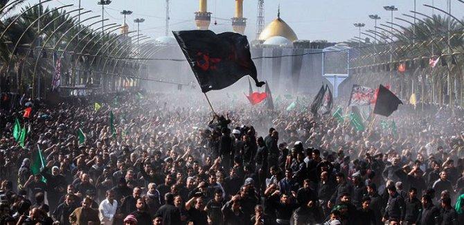 Irak'taki gösterilere 'Erbain' arası