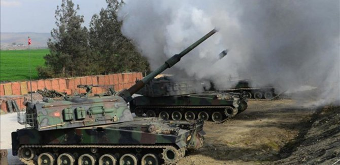 'TSK,  PYD hedeflerini vurdu'