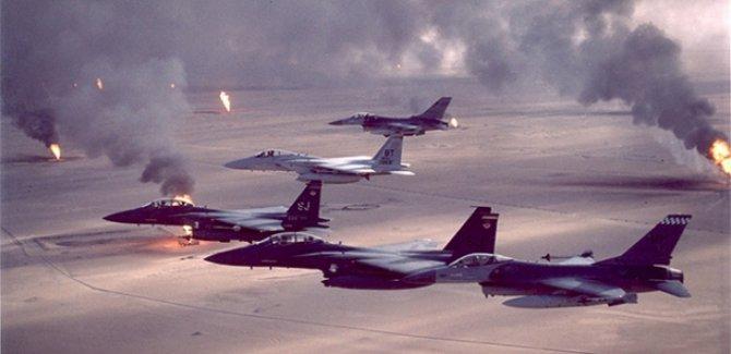 Koalisyon uçakları Rakka'da IŞİD noktalarını bombaladı