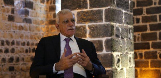 Ahmet Türk: Bu ülkeye bu gün barış gelsin Allah yarın canımı alsın