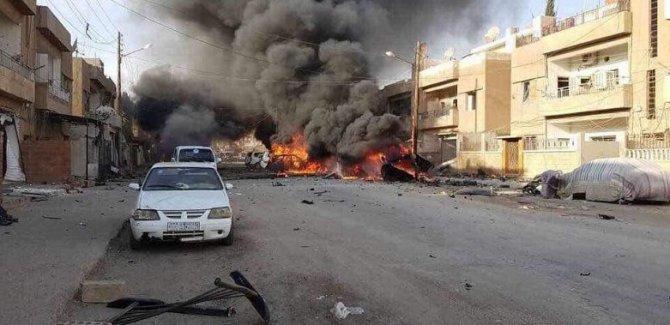 Kamışlo'da büyük patlama!