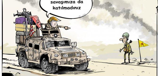Trump: Kürtler bize yardım etmedi