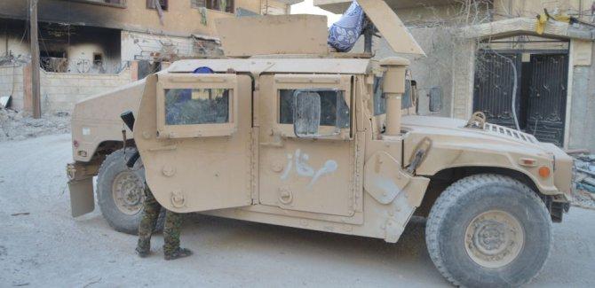 ABD'nin YPG'ye verdiği araçlar ÖSO'nun eline geçti