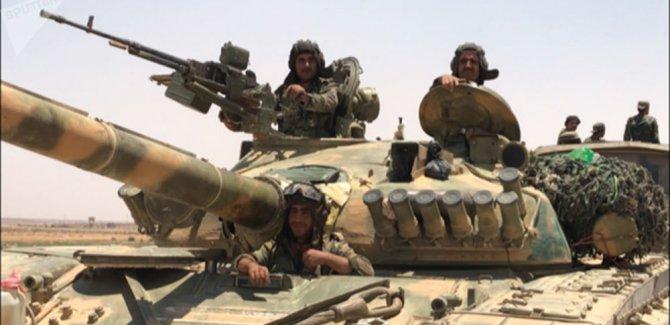Suriye ordusu, kuzeye hareket etmeye başladı
