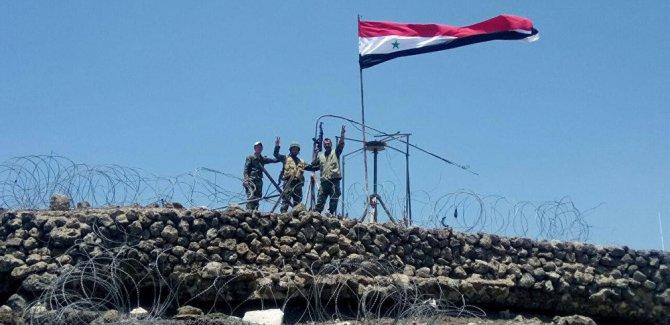 'Suriye ordusu Tabka'ya giriş yaptı'