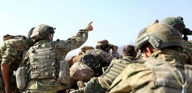 Menbic'te 1 asker hayatını kaybetti, 8 asker yaralandı