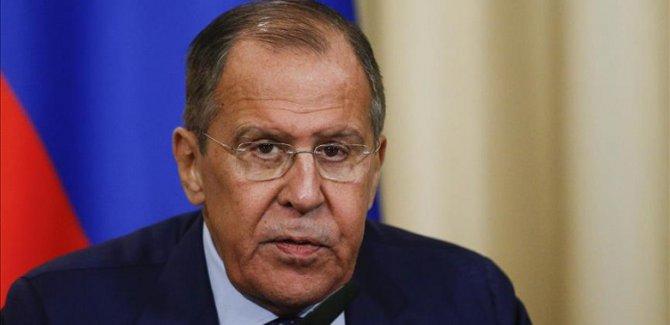 Lavrov: Türkiye ve Suriye'ye işbirliği için destek vereceğiz