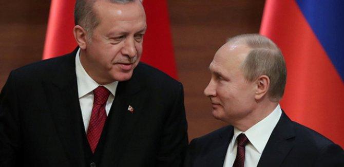Kremlin: Putin ve Erdoğan salı günü bir araya geliyor