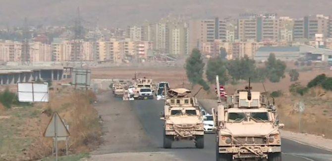Rojava'ndan çekilen ABD askerleri  Kürdistan'ın Duhok kentine giriş yaptı