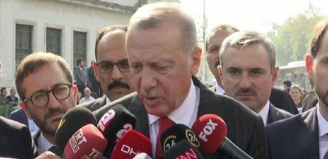 Erdoğan: Putin ile Suriye'deki meseleleri konuşacağız
