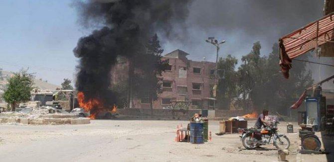 Suriye Milli Ordusu'na saldırı: 3 kişi öldü, 18 yaralı