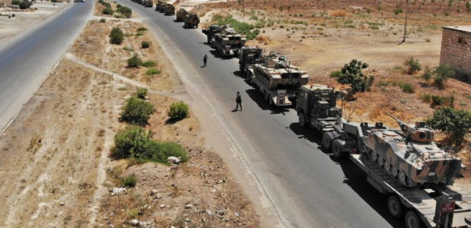 Haseke ve Rakka'ya askeri sevkiyat