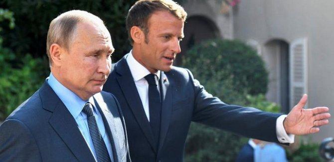 'Macron, Soçi mutabakatını takdir etti'