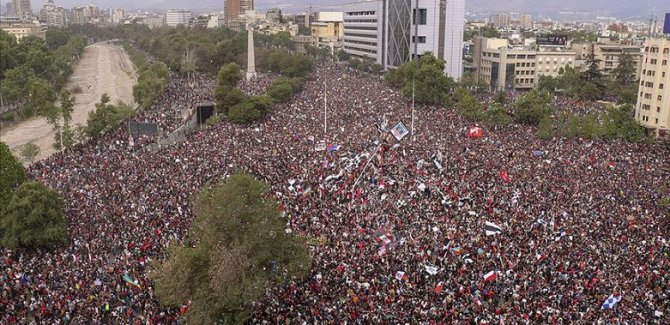 Latin Amerika ülkelerinde halk gösterileri