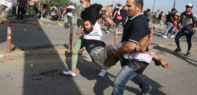 Kerbela Vilayeti'ndeki protestolarda bilanço ağırlaşıyor