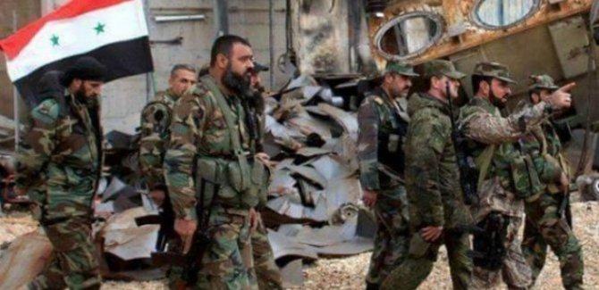 'Deyr ez Zor'da HSD ile Suriye ordusu çatıştı'