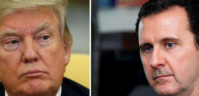 Esad'dan Trump'a övgü, ABD tarihinin en iyi başkanı