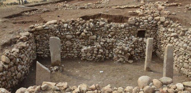 Mardin'de 11 bin 500 yıllık yapı bulundu