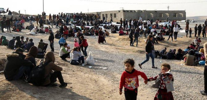 Rojava'dan Irak Kürdistan Bölgesi'ne 14 bin göç