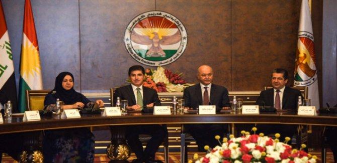 Kürdistan Bölgesi'nin kritik zirvesi başladı