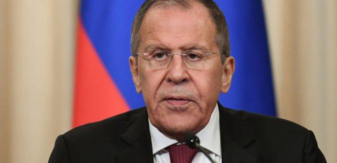Lavrov: Kürt güçler, Suriye'nin kuzeyindeki 30 kilometrelik alanın dışına çıkarıldı