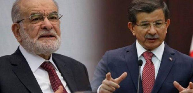 Davutoğlu'ndan Saadet Partisi hamlesi