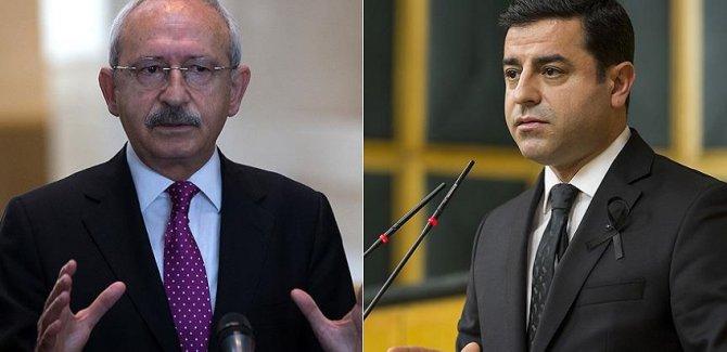 Kılıçdaroğlu'ndan, Demirtaş açıklaması