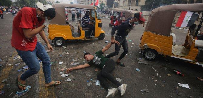 Irak'taki gösterilerde kayıplar artıyor