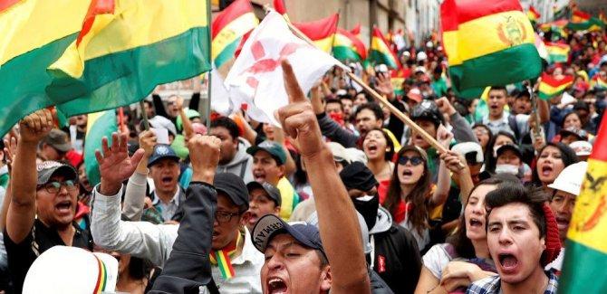 Bolivya'da darbe gerçekleşiyor