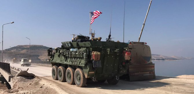 Koalisyon'dan Rojava'ya askeri sevkiyat