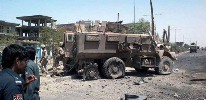 ABD konvoyuna saldırı: 4 ölü, 6 yaralı