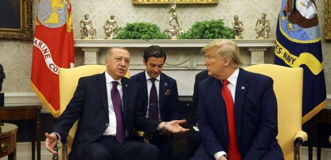 Erdoğan Beyaz Sarayda