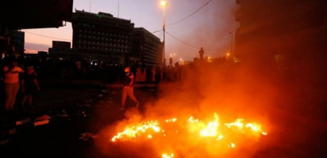 Bağdat'ta patlama: Ölü ve yaralılar var