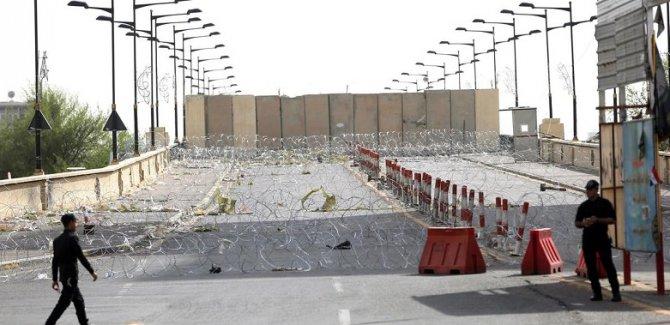 Bağdat'ta füze saldırısı