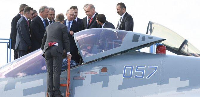 'Rusya, Türkiye'ye Su-35 ve Su-57 sevkiyatı konusu üzerinde çalışmaya hazır'