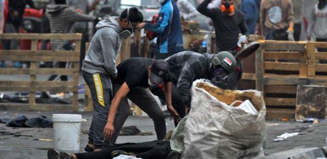Irak'ın Nasıriye kentinde 13 gösterici hayatını kaybetti