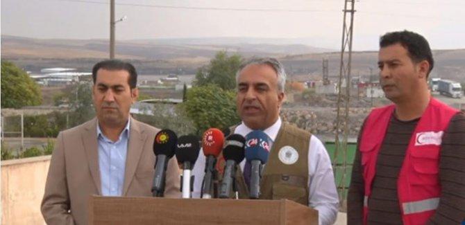 Barzani Yardım Vakfı'ndan Rojava'ya yeni yardım konvoyu