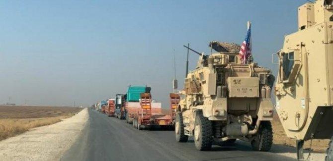 ABD Yeni Askeri Konvoyu Irak'tan Suriye'ye Geçti
