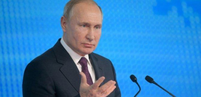 Putin Türkiye Sınırında Kürtler ile İşbirliği Yapıyoruz