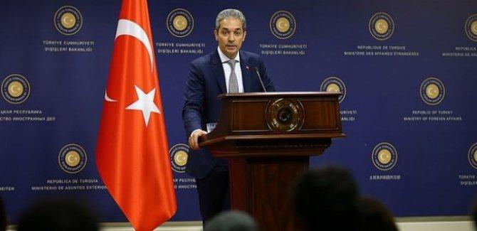 Dışişlerinden Libya Açıklaması