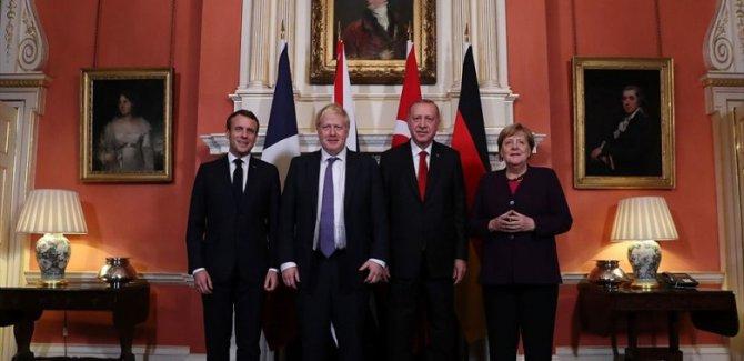 Fransa ve İngiltere'den dörtlü zirve açıklaması