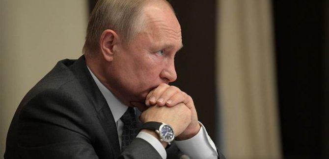 Putin: ABD, uzayda askeri operasyonlar yapmayı planlıyor