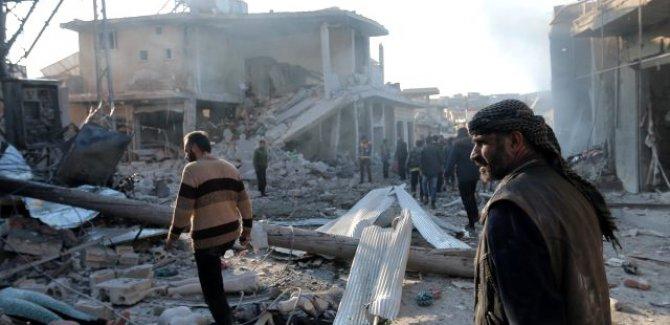 İdlib'de kara gün, onlarca ölü var