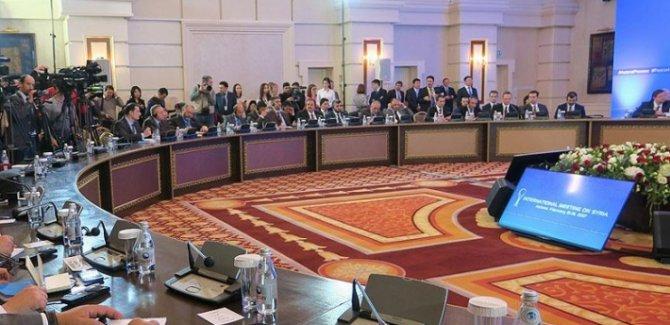 Suriye konulu garantörler toplantısı başladı