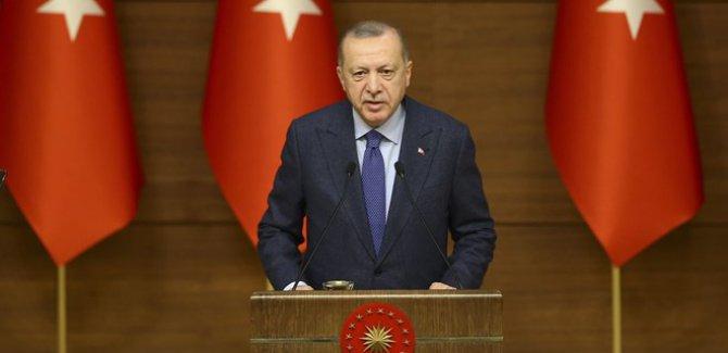 Erdoğan, '100 bin sosyal konut' açıklaması